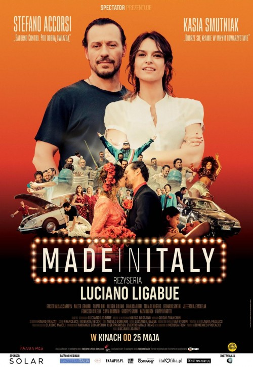 plakat filmu Made in Italy